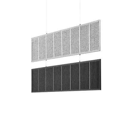 Akustyczne panele sufitowe CELL