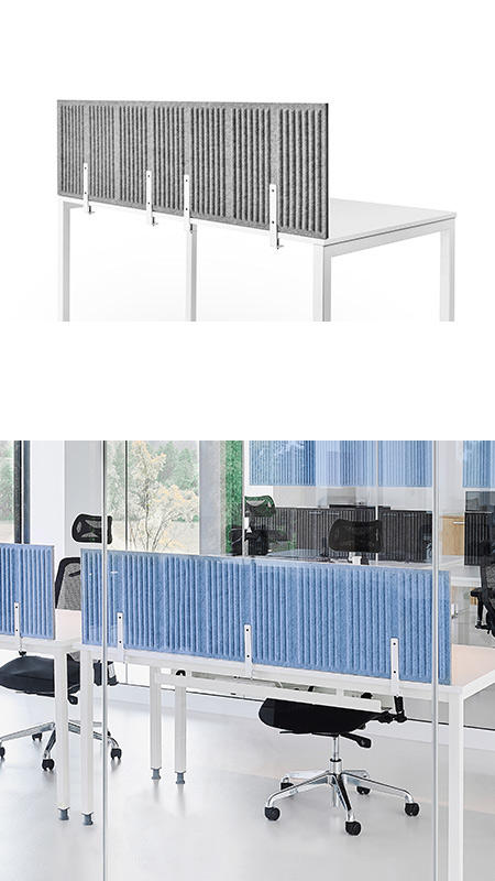 Akustyczne panele biurkowe CELL