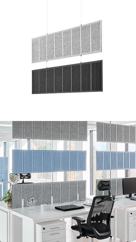 Akustyczne panele sufitowe
